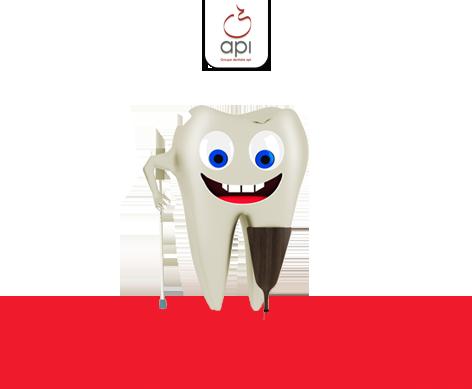 Quoi faire une avec dent cassée? Consultez votre dentiste API à Laval