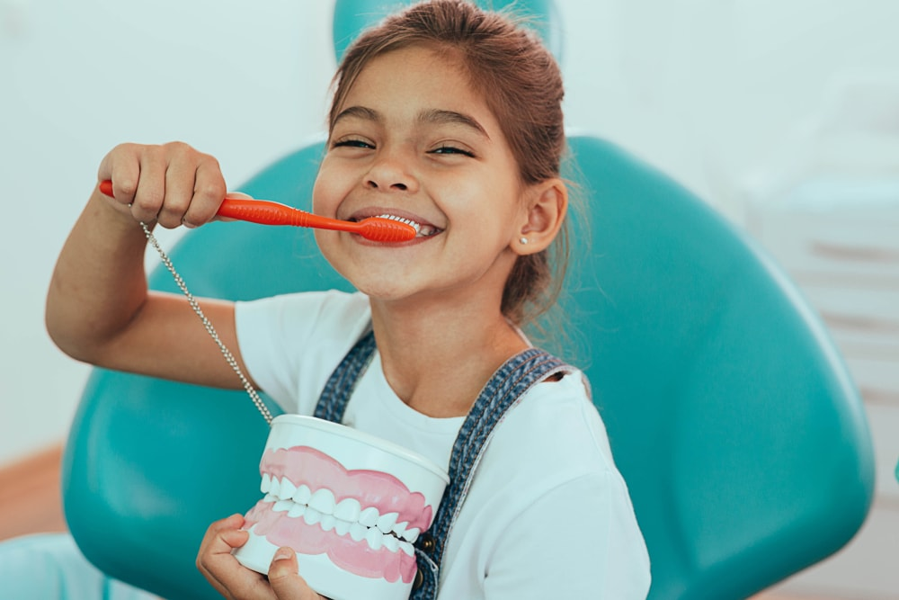 Our team offers dental care services for children