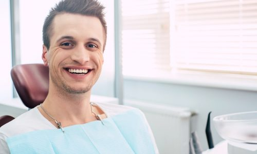 Un examen de routine chez le dentiste